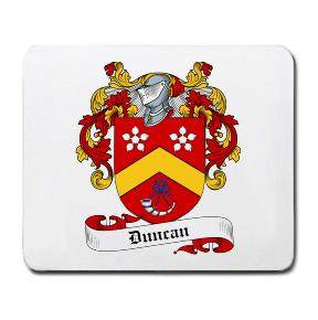 Duncan Coat of Arms Mouse Pad