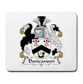 Duncanson Coat of Arms Mouse Pad