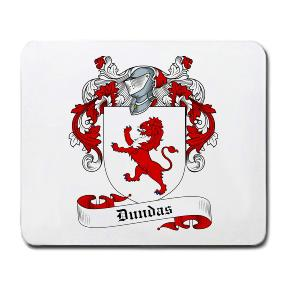Dundas Coat of Arms Mouse Pad