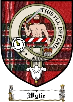 Wylie Clan Badge / Tartan FREE preview