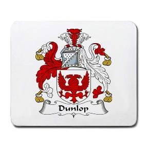 Dunlop Coat of Arms Mouse Pad