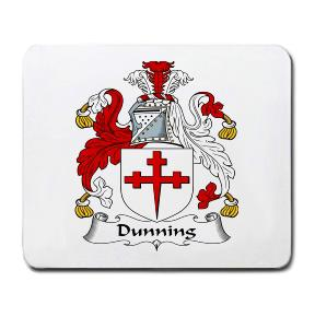 Dunning Coat of Arms Mouse Pad
