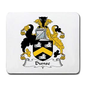 Dunse Coat of Arms Mouse Pad