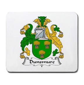 Dunsmure Coat of Arms Mouse Pad