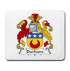 Durham Coat of Arms Mouse Pad