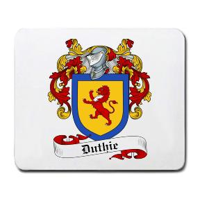 Duthie Coat of Arms Mouse Pad