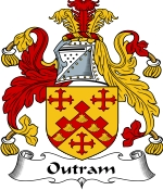 Outram Family Crest / Outram Coat of Arms JPG Download