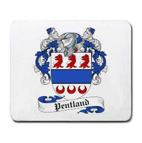 Pentland Coat of Arms Mouse Pad