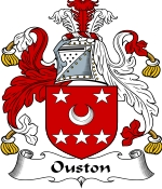 Ouston Family Crest / Ouston Coat of Arms JPG Download