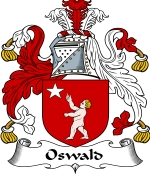 Oswald Family Crest / Oswald Coat of Arms JPG Download