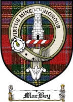 Macbey Clan Badge / Tartan FREE preview