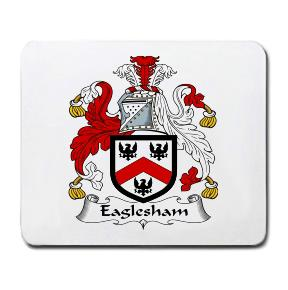 Eaglesham Coat of Arms Mouse Pad