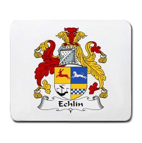 Echlin Coat of Arms Mouse Pad