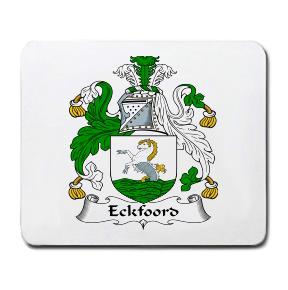 Eckfoord Coat of Arms Mouse Pad
