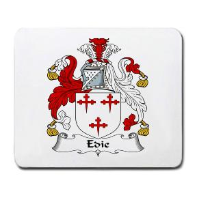 Edie Coat of Arms Mouse Pad