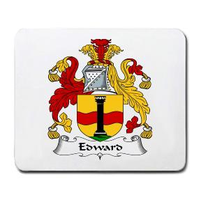 Edward Coat of Arms Mouse Pad