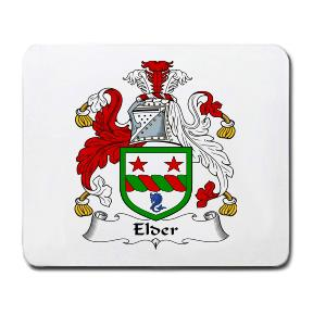 Elder Coat of Arms Mouse Pad