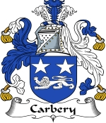 Carbery Family Crest / Carbery Coat of Arms JPG Download