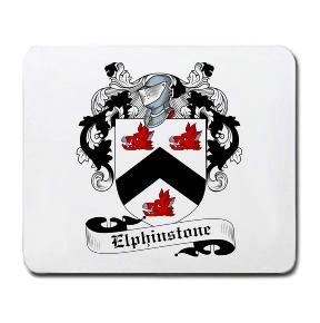 Elphinstone Coat of Arms Mouse Pad