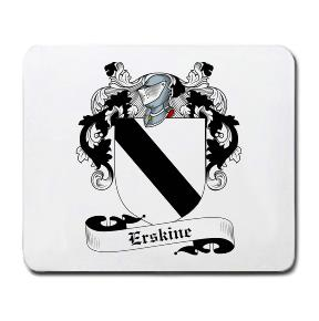 Erskine Coat of Arms Mouse Pad