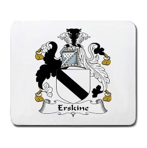 Erskin Coat of Arms Mouse Pad