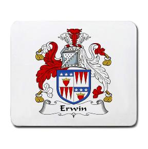 Erwin Coat of Arms Mouse Pad