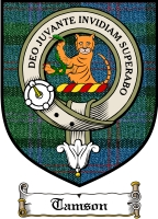 Tamson Clan Badge / Tartan FREE preview