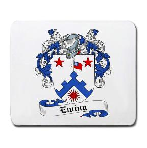 Ewing Coat of Arms Mouse Pad