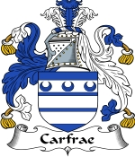 Carfrae Family Crest / Carfrae Coat of Arms JPG Download