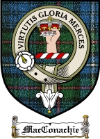 Macconachie Clan Badge / Tartan FREE preview