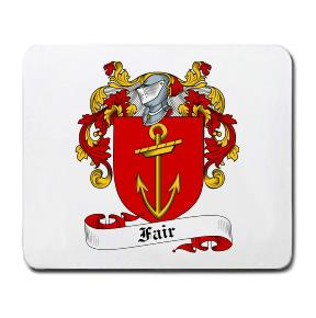 Fair Coat of Arms Mouse Pad