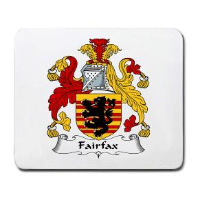 Fairfax Coat of Arms Mouse Pad