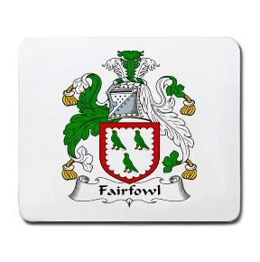 Fairfowl Coat of Arms Mouse Pad