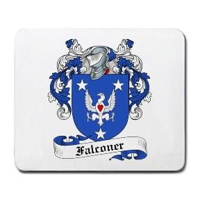 Falconer Coat of Arms Mouse Pad