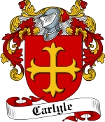 Carlyle Family Crest / Carlyle Coat of Arms JPG Download