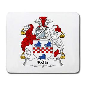Falls Coat of Arms Mouse Pad