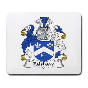 Falshaw Coat of Arms Mouse Pad