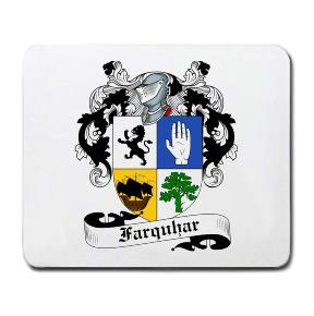 Farquhar Coat of Arms Mouse Pad