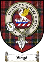 Boyd Clan Badge / Tartan FREE preview