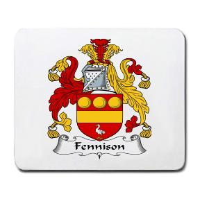 Fennison Coat of Arms Mouse Pad