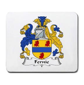 Fernie Coat of Arms Mouse Pad