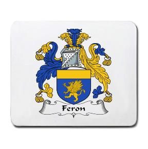 Feron Coat of Arms Mouse Pad