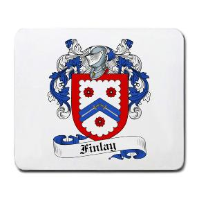 Finlay Coat of Arms Mouse Pad