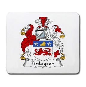 Finlayson Coat of Arms Mouse Pad