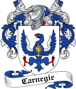 Carnegie Family Crest / Carnegie Coat of Arms JPG Download