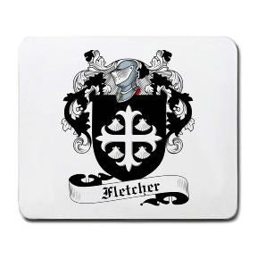 Fletcher Coat of Arms Mouse Pad