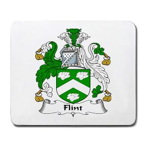 Flint Coat of Arms Mouse Pad