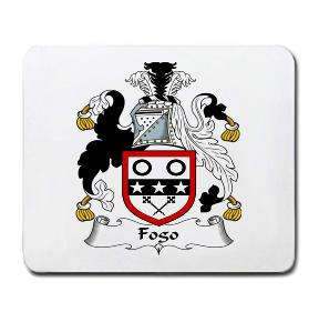 Fogo Coat of Arms Mouse Pad