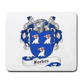 Forbes Coat of Arms Mouse Pad