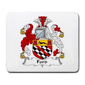 Ford Coat of Arms Mouse Pad
